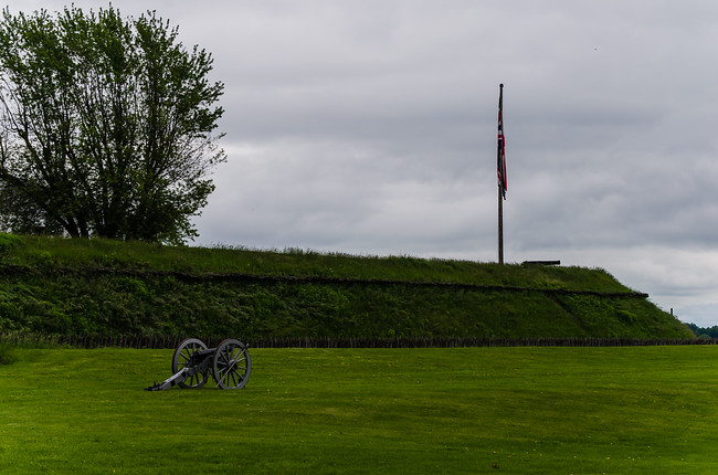 Fort Wellington Cannon