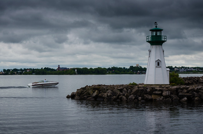 Prescott Lighthouse Storm