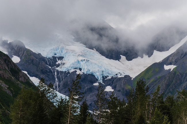 Byron Glacier on Kenai Peninsula