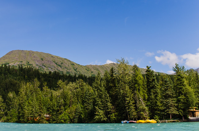 Kenai River Rafting in Alaska