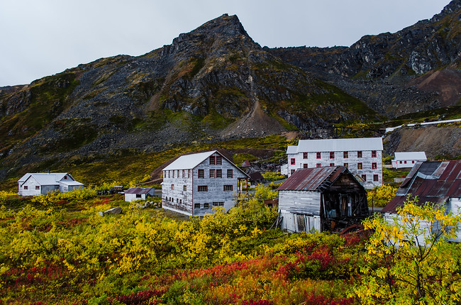 Independence Mine in Fall