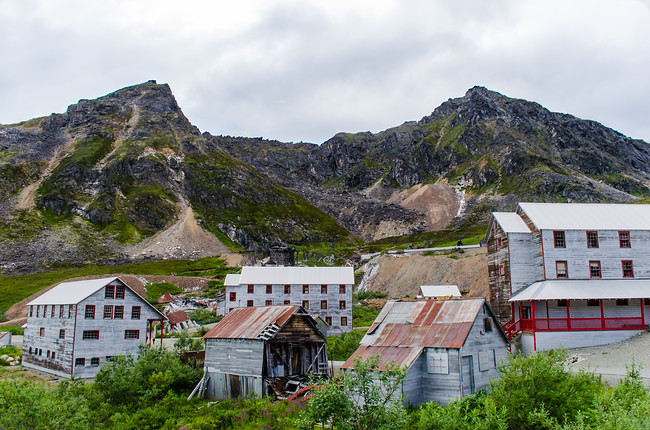 Independence Mine in Hatcher's Pass Alaska