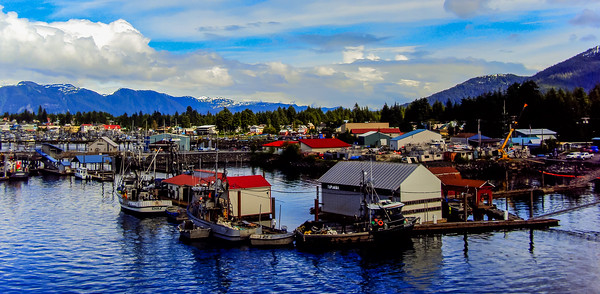 Petersburg alaska boats