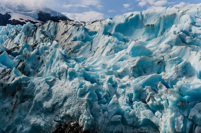 Portage Glacier Close Up Photo