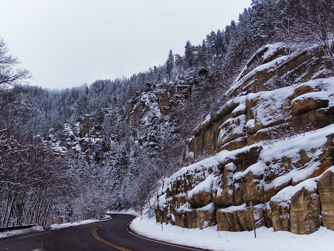 Oak Creek Canyon Road 89A Arizona to Sedona
