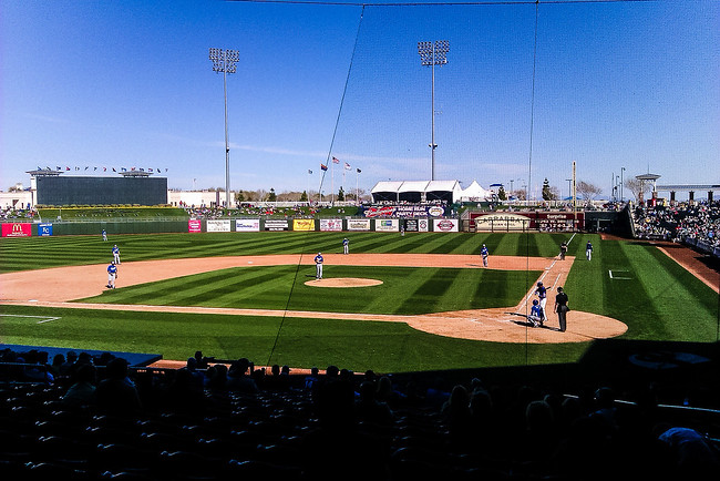 surprise stadium phoenix texas rangers cactus league