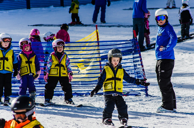 Learn to ski for children in Keystone
