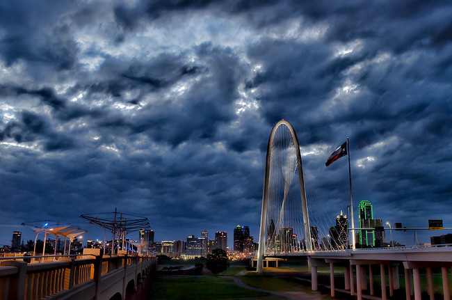 Downtown Dallas at Dawn