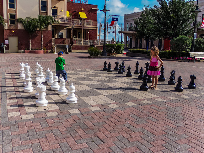large chess set galveston texas