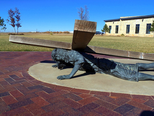 ninth station of the cross in groom texas