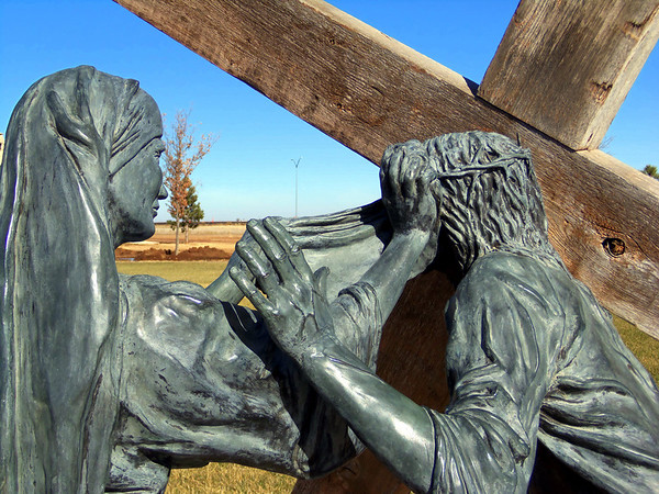 sixth station of the cross, groom texas