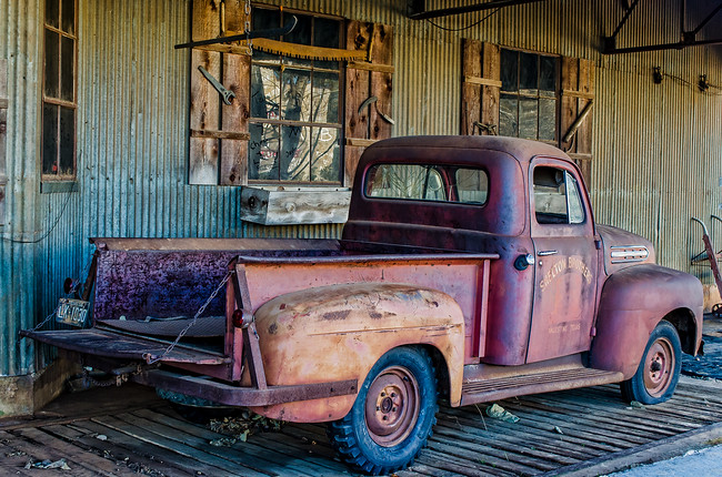 Old Truck in Palestine, Texas