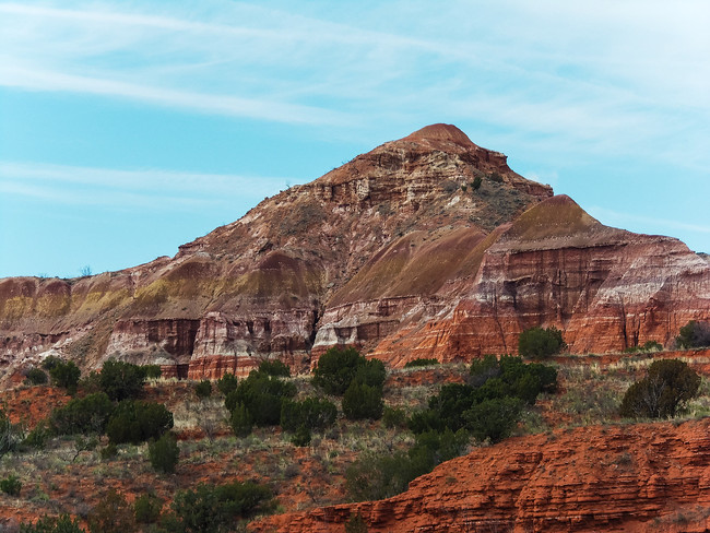 geology state park texas palo duro canyon
