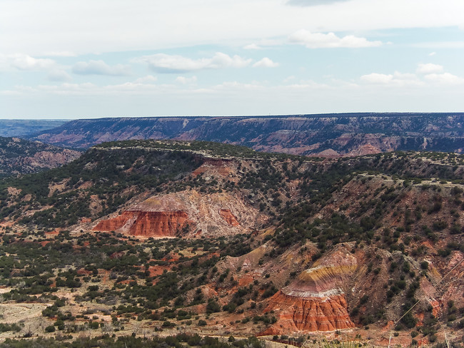 geology palo duro canyon photos state park texas