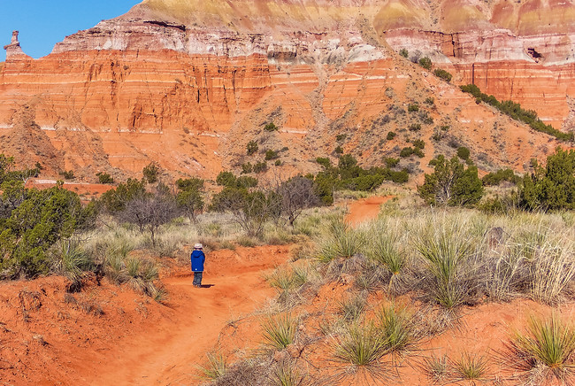 palo duro canyon state park hiking