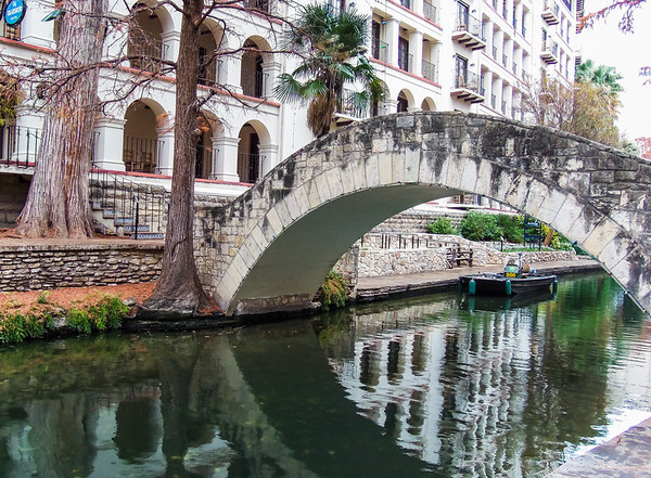 Bridge on San Antonio Riverwalk