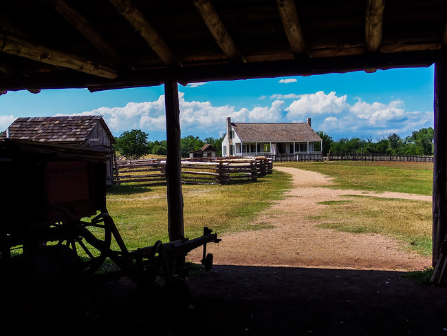 Barrington Living History Farm in Texas