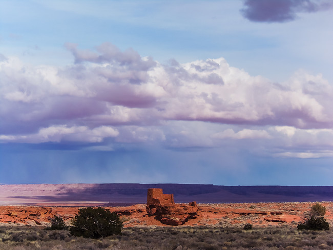 Wukoki Pueblo - Wupatki National Monument