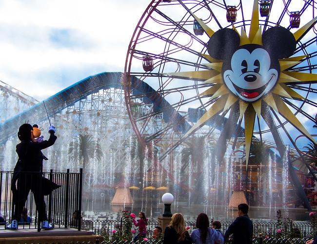 Disney California adventure goofy