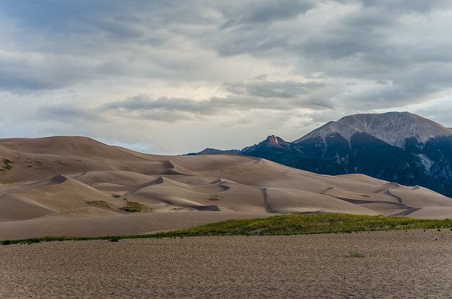 Great Sand Dunes National Park and Sangre de Cristo Mountains