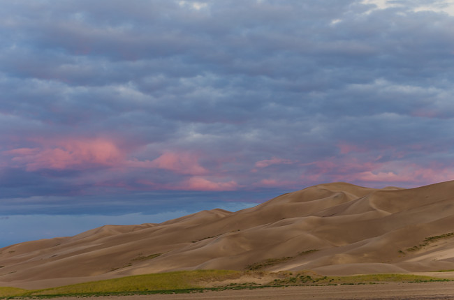 Sunrise over Great Sand Dunes National Park