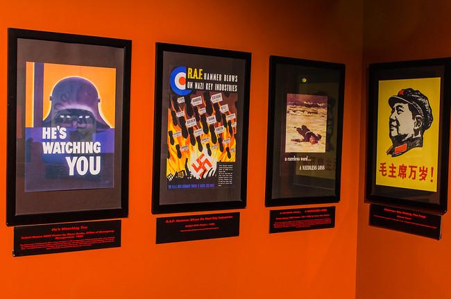 Propaganda at Nuclear Museum in Albuquerque