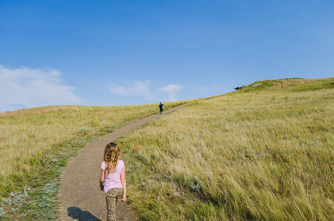 Hike at Theodore Roosevelt National Park with kids