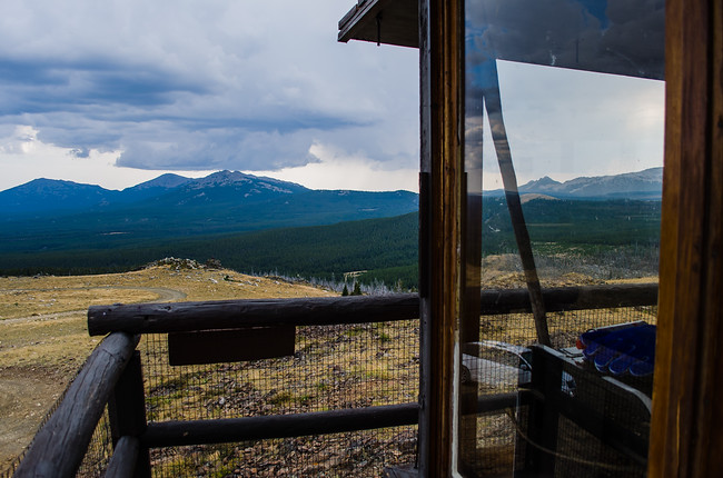 View from Sheep Mountain Fire Lookout